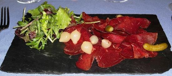 Au Coin du Feu : Alpine beef dish at the Coin du Feu