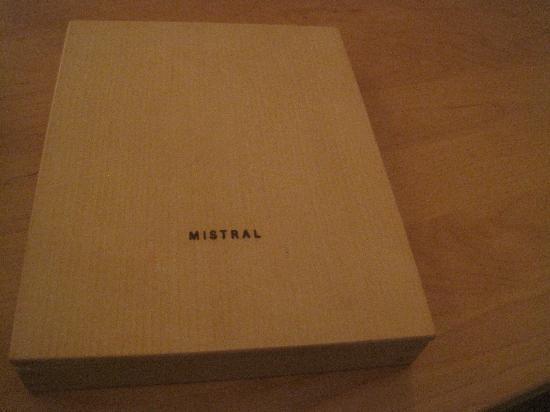 Mistral: The bill!