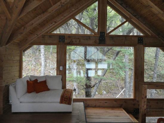 Aguas Arriba Lodge: vista