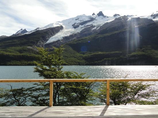 Aguas Arriba Lodge: deck