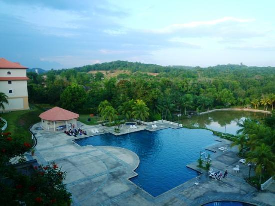 Puteri Resort Ayer Keroh: The view from our room