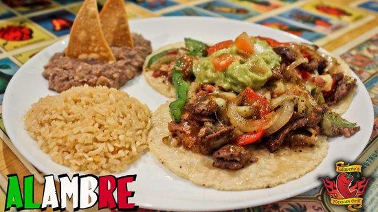 Jalapenos Mexican Grill: Tacos - Alambre