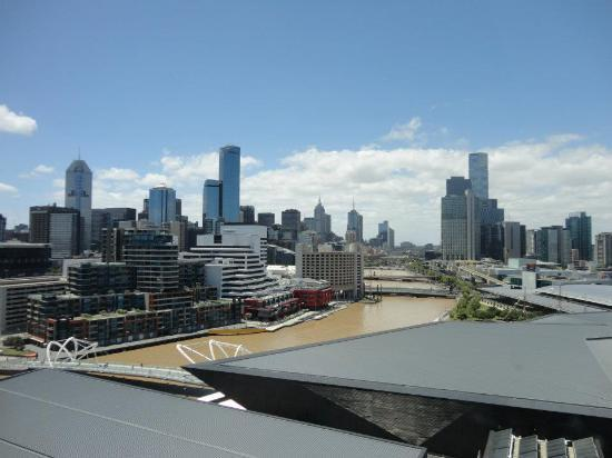 Hilton Melbourne South Wharf: View from the room
