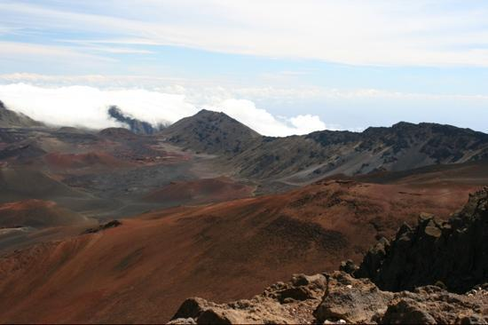 Paia, HI: Summit crater