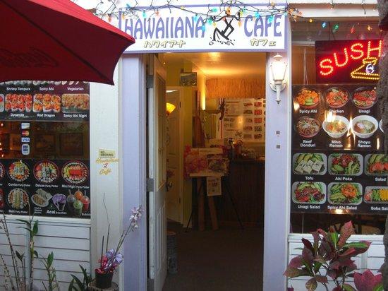 Hawaiiana Cafe: 入口