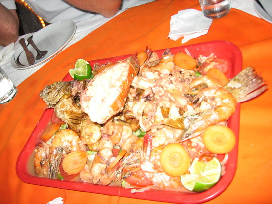 Zarabanda: great sea food!