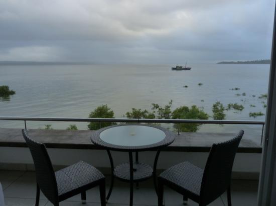 Casa do Capitao: vue de la chambre