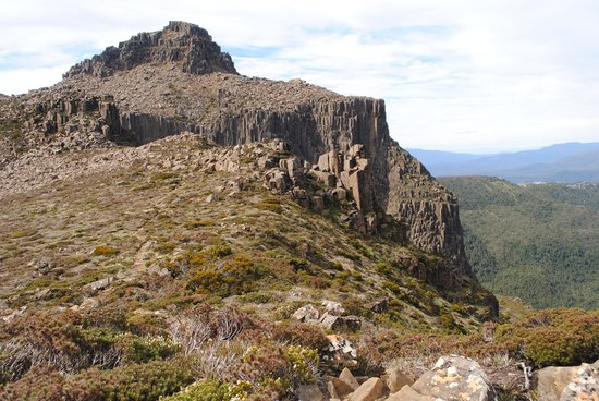 Tasmanian Wilderness Experiences - Base Camp Tasmania: Mt Anne the peak