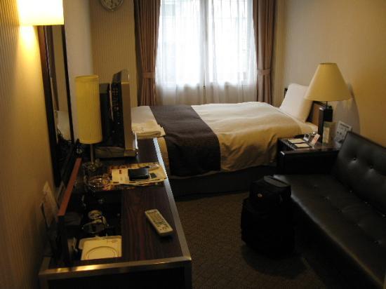 Hotel Sunroute Kyoto: シングルの室内
