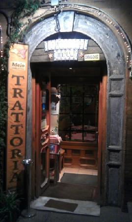 Trattoria Melo. Front door