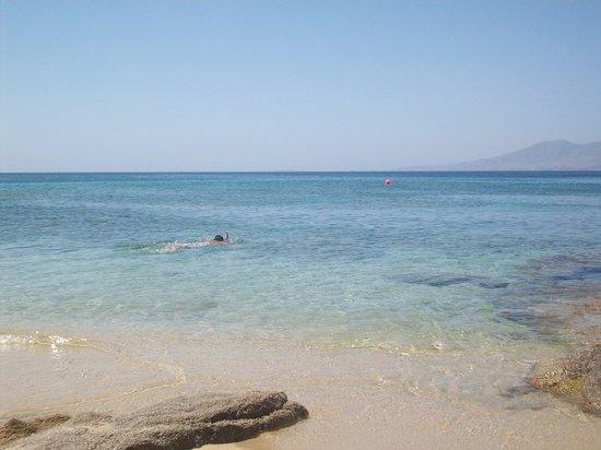 Agios Prokopios Beach: Il mare di Agios Prokopios