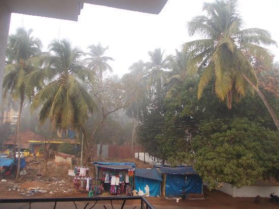 Nitya Resort: view from super deluxe room