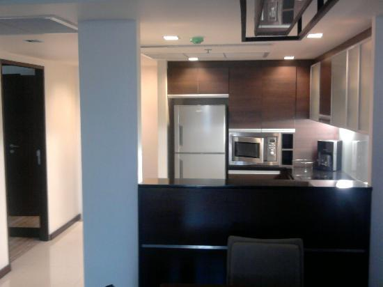 Oakwood Residence Sukhumvit Thonglor: cucina