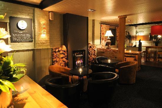 The Rising Sun: bar area