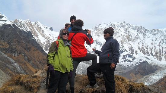 Annapurna Mountain Range: Annapurna base camp trek