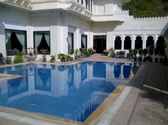 Swimming Pool Too Cold To Swim Picture Of Hotel Swaroop Vilas Udaipur Tripadvisor