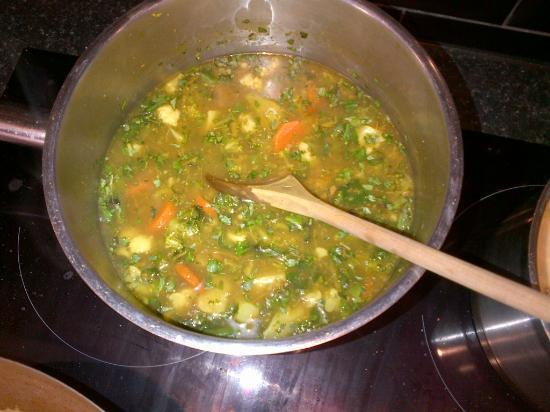 Angela Malik Cooking School: Vegetable Jungle Curry