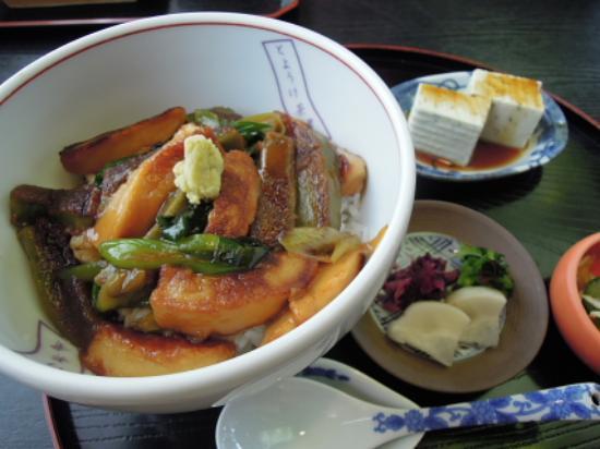 Toyouke Jaya: 生麩丼