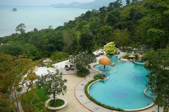 Sea View Resort & Spa Koh Chang: up hill swimming pool