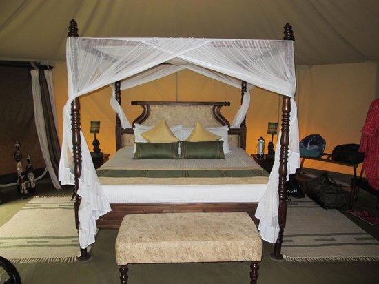 Mara Ngenche Safari Camp: Bigger than what I have at home!