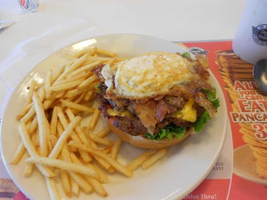 Steak 'n Shake : Hamburguesa