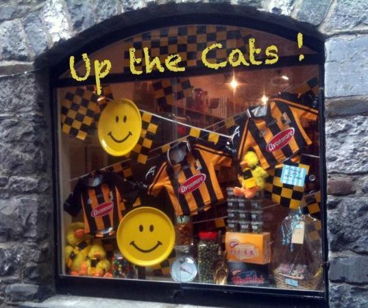 Butter Slip : Sweet Shop Window at All Ireland Final Time