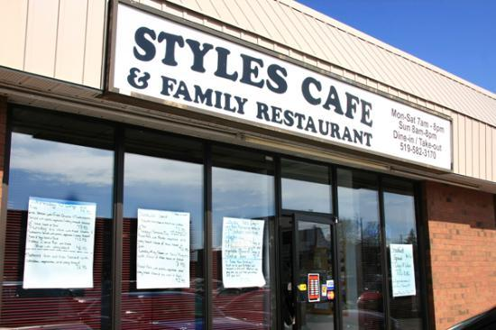Delhi, Canada: Styles Restaurant