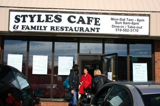 Delhi, Canada: Styles Cafe
