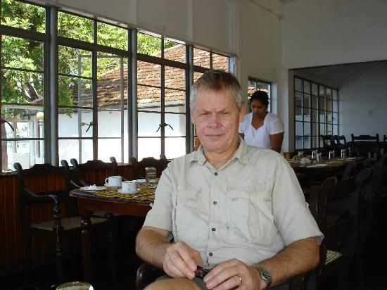 Polonnaruwa Resthouse: Breakfast at dining room