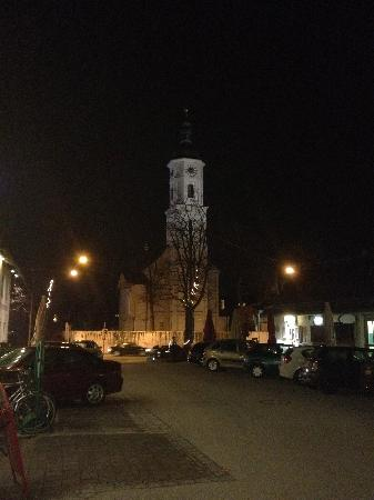 Opposite the Irish Folk Club Munich entrance  - a lovely view as you leave the club