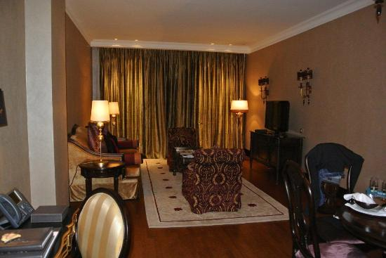 Jumeirah Zabeel Saray: Livingroom