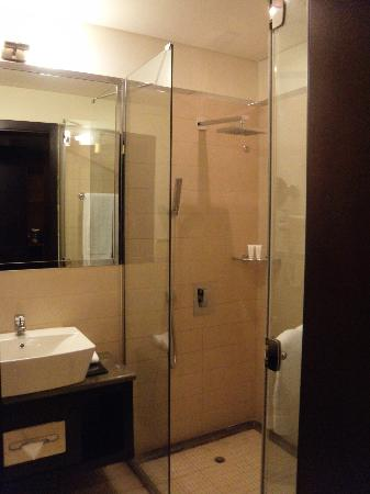 Safir Doha Hotel: buena ducha