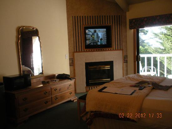 Lighthouse Lodge & Cottages: Room 202