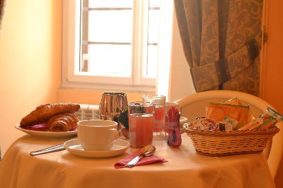 บีแอนด์บีวาติกันทาวน์: colazione