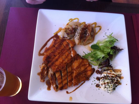 Soba sushi & lounge: chicken with rice