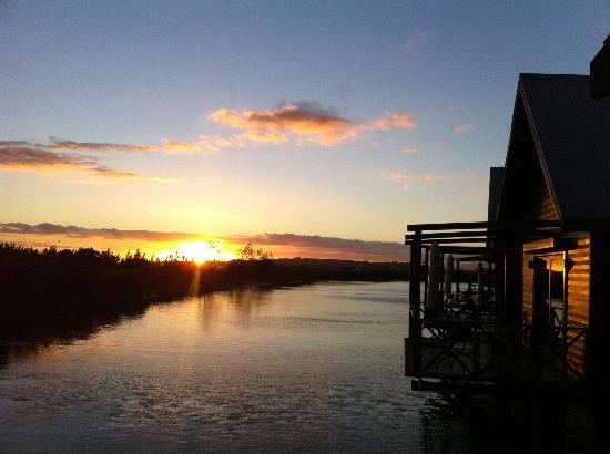 Papyrus Lodge: Sonnenuntergang