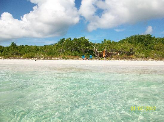 Blue Beach: Very secluded beach