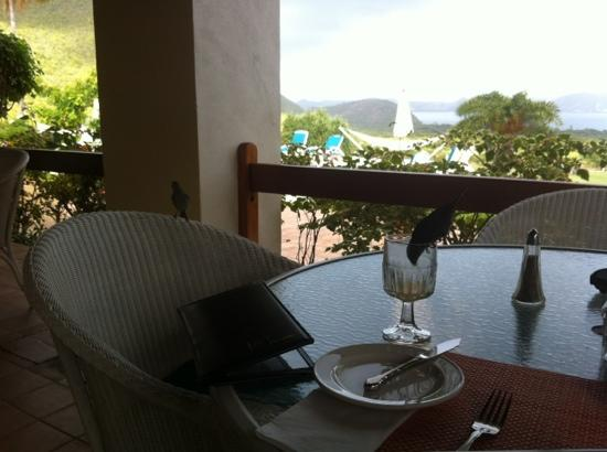 The Mount Nevis Hotel: breakfast