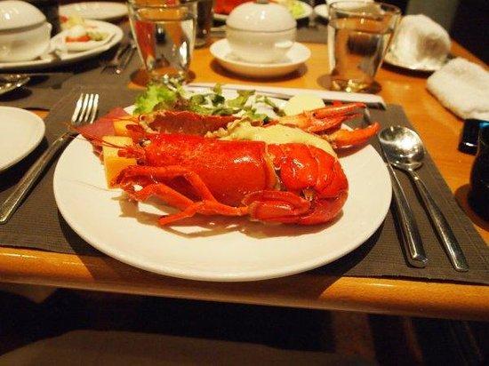 Harbour Side Restaurant: ロブスターも食べ放題