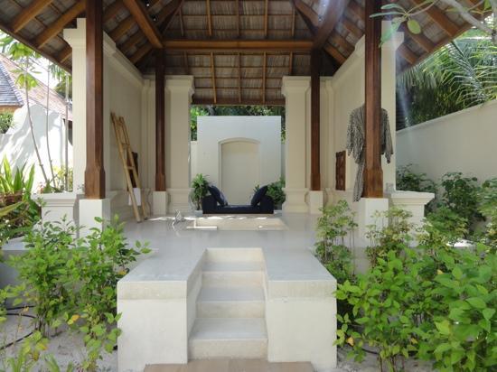 Conrad Maldives Rangali Island: Bath area