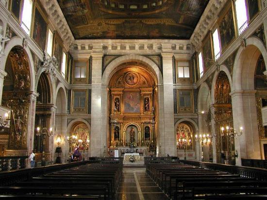 Igreja de São Roque: interno.....