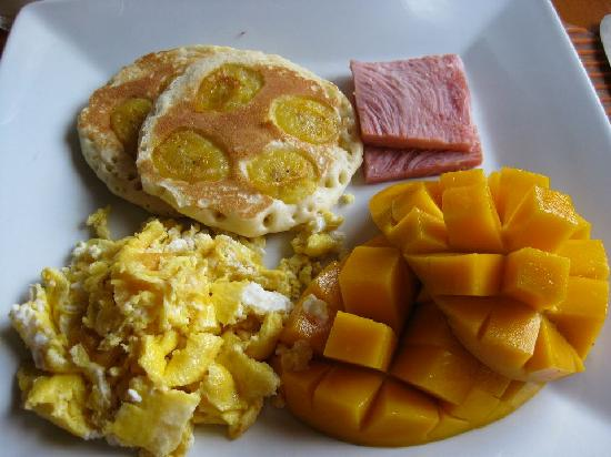 El Rio y Mar Resort : Island Breakfast option