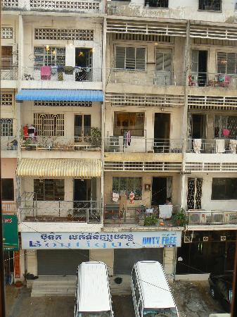 Asia Hotel: vue de la fenêtre