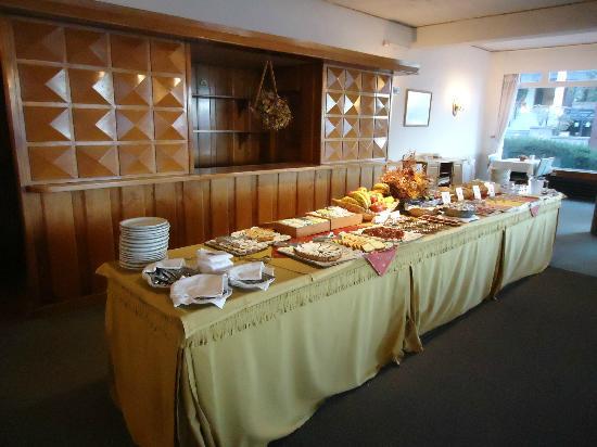 Hotel Tres Reyes: desayuno buffet espectacular!!!!