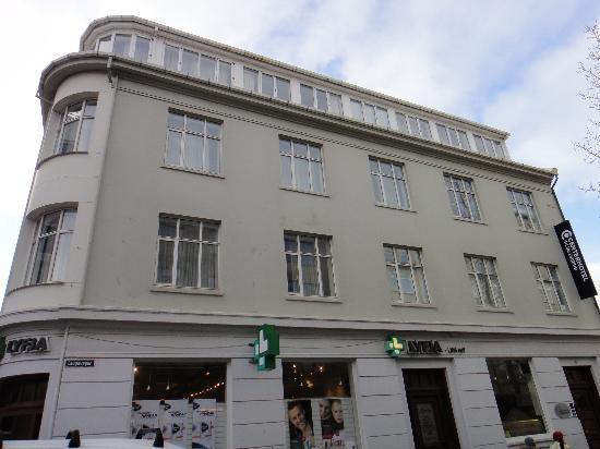 CenterHotel Skjaldbreid: Здание отеля