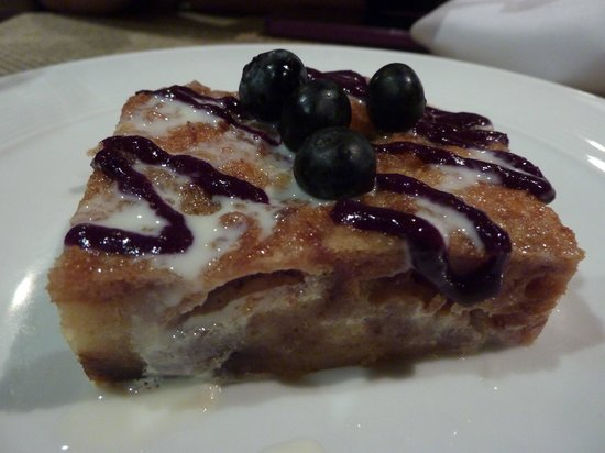 Green Street Restaurant: White Chocolate Croissant Bread Pudding