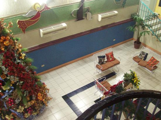 Intosan Beach Resort : View of the Lobby from the 2nd flr