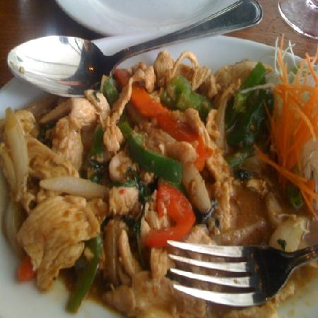 Basil Restaurant: Basil Dish with chicken