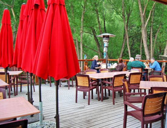 The Wines of Colorado: Dining on the upper deck
