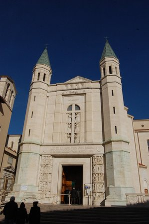 Cascia, Italië: la basilica